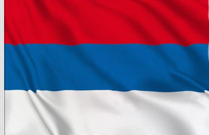 Bandiera Serbia Nazionale