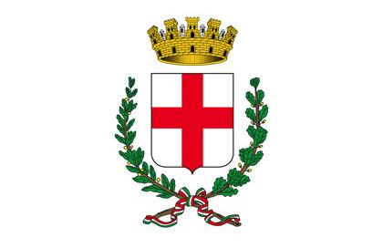 Bandiera Stemma di Milano