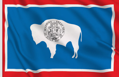 Bandiera Wyoming