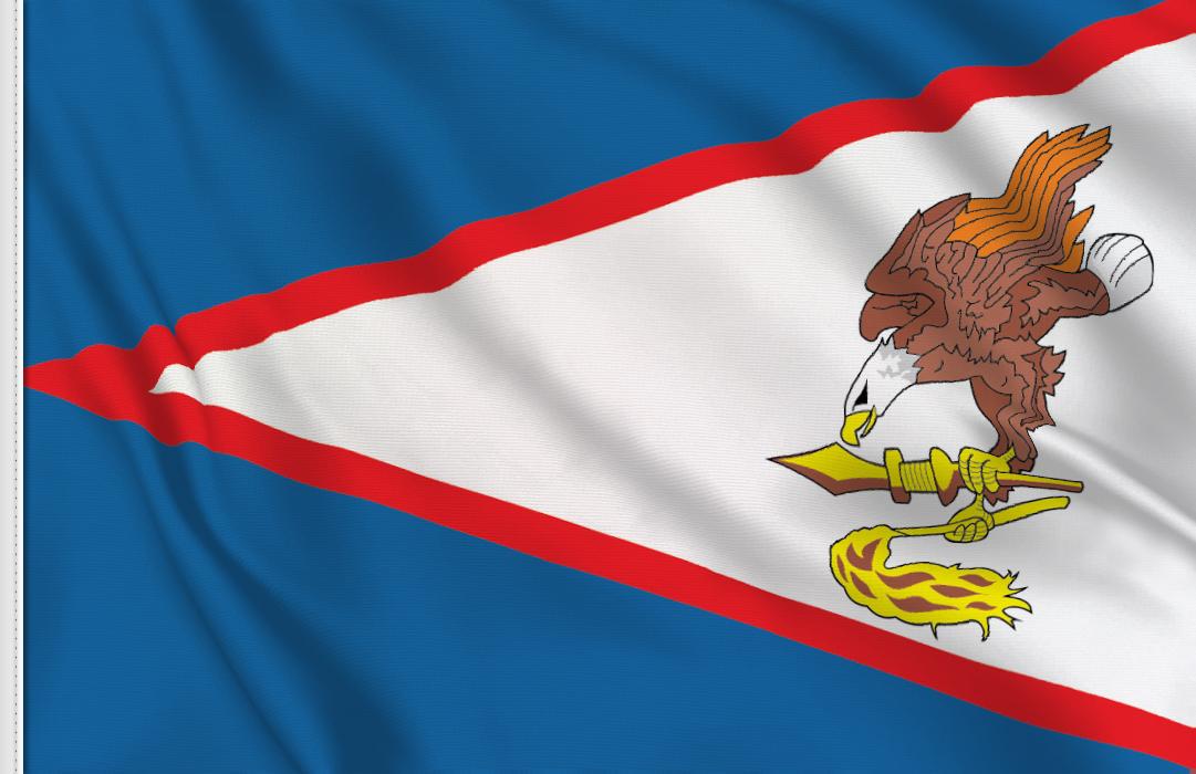 Amerikanisch Samoa aufkleber fahne