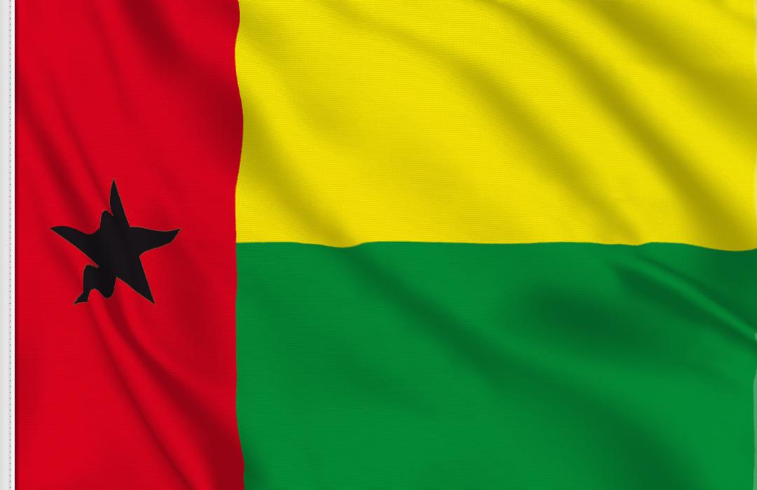 Guinea Bissau table flag