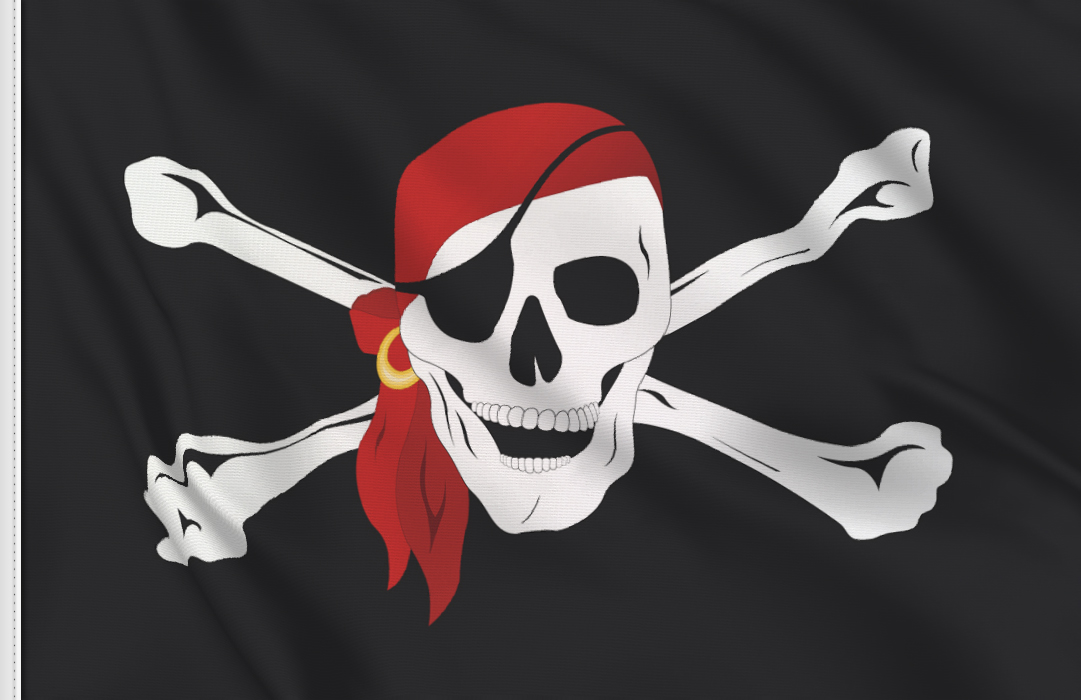 Pirata bandana flag