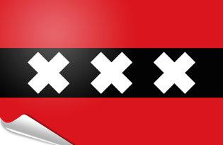 Bandiera adesiva Amsterdam