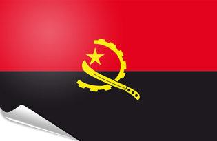 Bandiera adesiva Angola