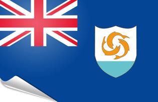 Bandiera adesiva Anguilla