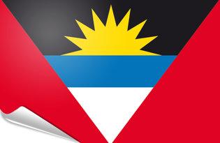 Bandiera adesiva Antigua
