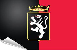 Bandiera adesiva Aosta