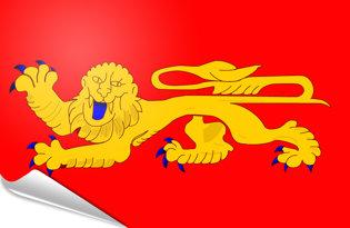 Bandiera adesiva Aquitania