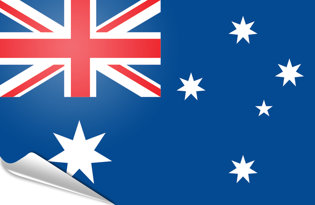 Bandiera adesiva Australia