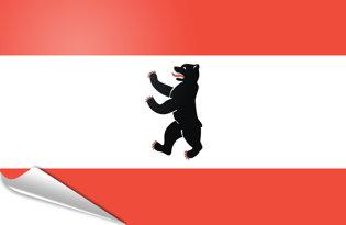 Bandiera adesiva Berlino