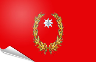 Bandiera adesiva Campobasso-Provincia