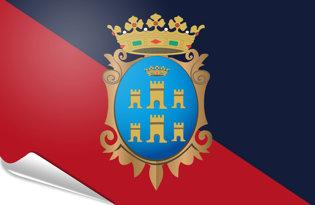 Bandiera adesiva Campobasso