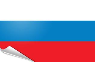 Bandiera adesiva Russia