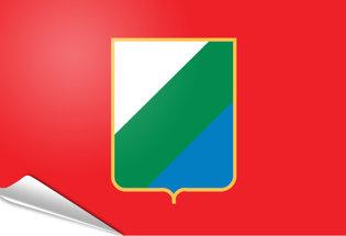 Bandiera adesiva Abruzzo