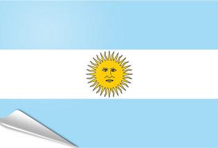 Bandiera adesiva Argentina