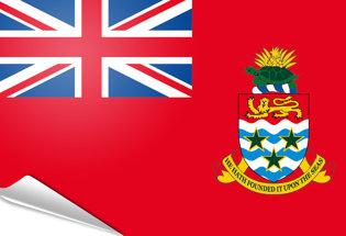 Bandiera adesiva Cayman Marina Mercantile