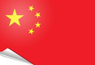 Bandiera adesiva Cina