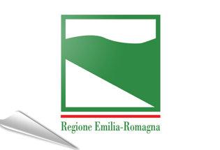 Bandiera adesiva Emilia-Romagna