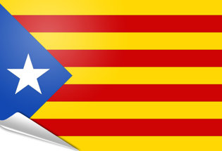 Bandiera adesiva Estelada