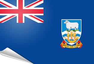 Bandiera adesiva Falkland