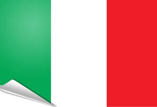 Bandiera adesiva Italia