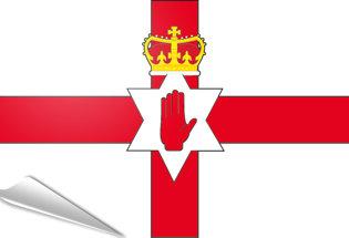 Bandiera adesiva Irlanda del Nord