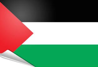 Bandiera adesiva Palestina