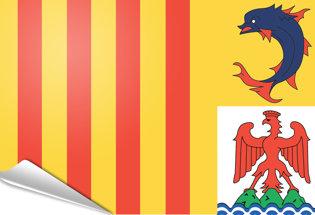 Bandiera adesiva Provenza-Costa-Azzurra