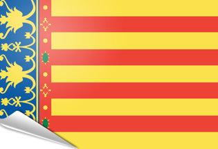 Bandiera adesiva Valencia