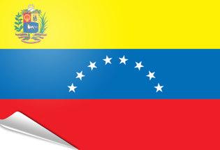 Bandiera adesiva Venezuela 1954-2006