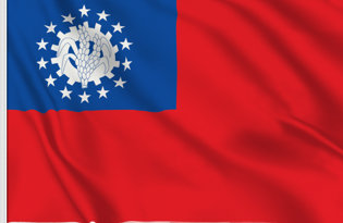 Bandiera Birmania