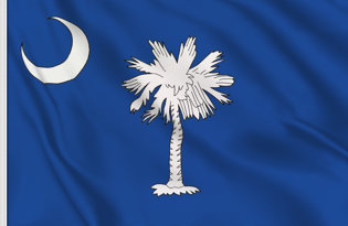 Bandiera South-Carolina