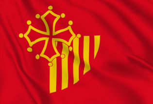 Bandiera Linguadoca-Rossiglione