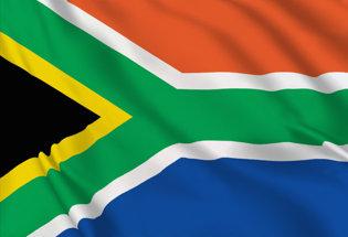 Bandiera Sud Africa