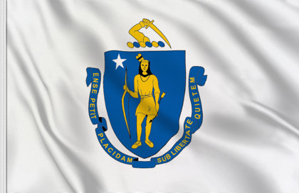 Bandiera Massachussetts
