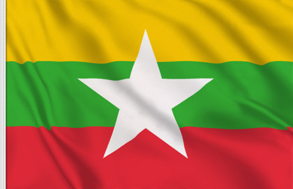 Bandiera Myanmar