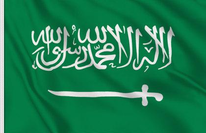 bandera de mesa de Arabia Saudi