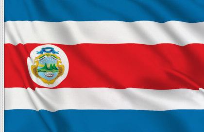 Bandiera Costa Rica Stato