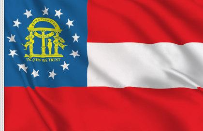 Bandiera Georgia-state