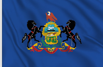 Bandiera Pennsylvania