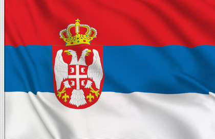 Bandiera Serbia Stato In Vendita Bandiera Serba