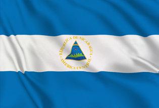 Bandiera Nicaragua Stato