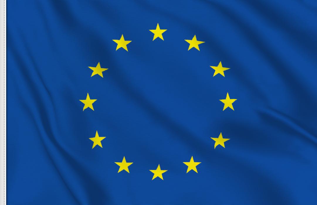 Flag sticker of EU