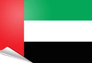 Bandiera adesiva Emirati Arabi