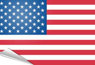 Bandiera adesiva Stati Uniti d'America - USA