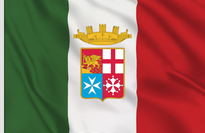 Italy Navy Army table flag