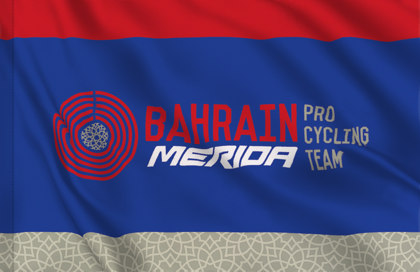 Bandiera Bahrain Merida Pro Cycling Team