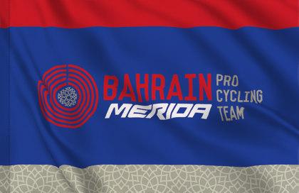 Bandiera Bahrain Merida Pro Cycling Team