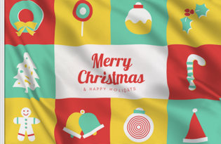 bandiera natalizia Dolce Natale