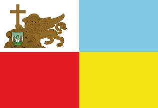 Bandiera Gonfalone di Venas